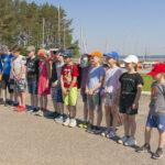7 июня-26 июня Спортивно-оздоровительный лагерь.